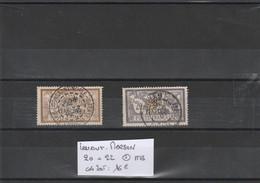 LEVANT FRANCAIS  N° 20 Et 22    Belles Oblitérations De 1904 De Constantinople Et Beyrouth - Usados