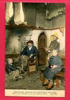 CPA (Ref : BB 449) (RÉGIONS BRETAGNE) COUTUMES ET MOEURS ET COSTUMES BRETONS Un Intérieur Dans Les Côtes Du Nord - Bretagne