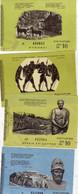 Grèce - Musée Ou Site Archéologique - 4 Pièces - 1 Tamponné 1972 - Bilingue Grec Anglais - Biglietti D'ingresso