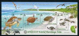 """Pitcairn - Block Nr. 50 - """"UNESCO-Welterbe - Schildkröten"""" ** / MNH (aus Dem Jahr 2008) - Islas De Pitcairn"""