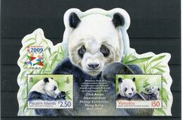 """Pitcairn - Block Nr. 52 - """"Intern. Briefmakenausstellung HONG KONG / Panda"""" ** / MNH (aus Dem Jahr 2009) - Islas De Pitcairn"""