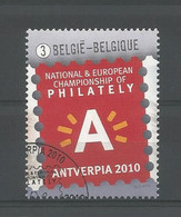 Belgium 2010 Antverpia Logo OCB 4029  (0) - Gebraucht