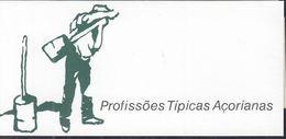 AZOREN  Markenheftchen 10, Gestempelt, Landestypische Berufe 1991 - Azores