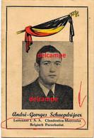Orginal Image Andre Schaepdijver Kortrijk Belgian Parachutist S.A.S TROOPS Taken Prisoner And Killed Mauthausen 1945 - 1939-45