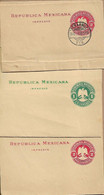 MEXICO THREE OLD WRAPPERS UNUSED - Mexico