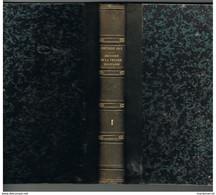 D85. HISTOIRE DE LA VENDEE MILITAIRE. 1843. J. CRETINEAU-JOLY. Tome 1er. - 1801-1900