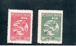CHINE 1949 SANS GOMME - Nuevos