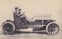 CPA NAZZARO (Italie) Coupe Automobile De L'ACF 1906 Au Circuit De LE MANS Sur Sa FIAT 130 HP Classé 2° De La Compétition - Le Mans