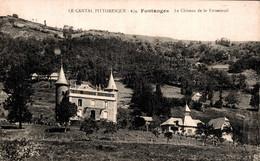 15 FONTANGES Le Château De La Fromental - Otros Municipios