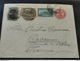 Enveloppe, Argentina Envoyé à Cabannes Francia 1911 - Briefe U. Dokumente