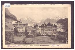 WENGEN - HOTEL DES ALPES - TB - BE Berne
