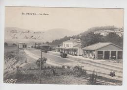 CPA Privas - La Gare - Privas