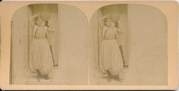 Photo Stéréo : Tunisie - Danseuse Arabe (BP) - Stereoscoop