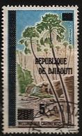 Djibouti 1977 N° 470 Iso O Surchargés, Palmier, Wissmannia Carinensis, Nature, Afars Et Issas - Djibouti (1977-...)