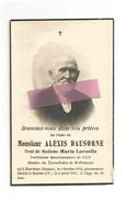DD 518. ALEXIS DAUSOGNE Veuf De M. Laruelle - Instituteur Démissionnaire De 1879 -°BIERWART (NAMUR)1852/+BAELEN-S/V1935 - Andachtsbilder