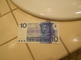 NEDERLAND   1968  -  10  GULDEN  BILLET - 10 Gulden