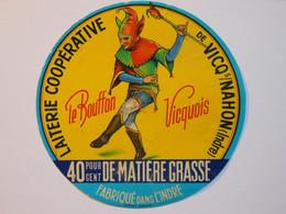 A-36134b - Etiquette De Fromage LE BOUFFON -  VICQ SUR NAHON - Indre 36A - Cheese