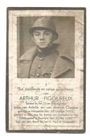 Doodsprentje Soldaat 23e Linieregiment Hoogstade + Beernem 26 Mei 1940 - Andachtsbilder
