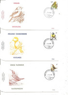 Belgique - Oiseaux - Buzin ( 5 FDC De 1992 à Voir) - 1991-00