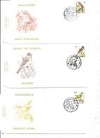 Belgique - Oiseaux - Buzin ( 3 FDC De 1991 à Voir) - 1991-00