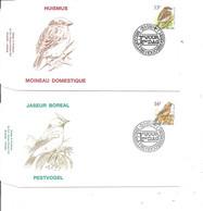 Belgique - Oiseaux - Buzin ( 2  FDC De 1994 à Voir) - 1991-00