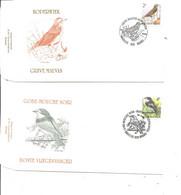 Belgique - Oiseaux - Buzin ( 2  FDC De 1996 à Voir) - 1991-00