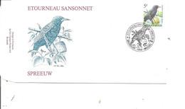 Belgique - Oiseaux - Buzin (   FDC De 1996 à Voir) - 1991-00