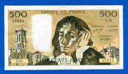 500 Fr  Du  8 /1 /1970 - 500 F 1968-1993 ''Pascal''