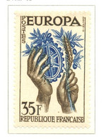 France - Neuf - 1957 Y&T 1123 - EUROPA - Engrenages - (1) - Neufs