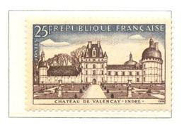 France - Neuf - 1957 Y&T 1128 - CHÂTEAU DE VALENÇAY- INDRE - (1) - Neufs