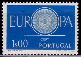Portugal 1960, CEPT, Europa, 1p, Sc#327, MNH - Nuovi