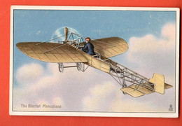 ZFA-34  The Blériot Monoplane..  Tucks Post Card. Gaufré. Message Au Dos - ....-1914: Precursori