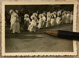 62 . ETAPLES . Photo Originale «Procession, Coiffes . . . » - Etaples