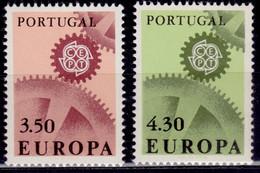 Portugal 1967, CEPT, Europa Issue, Sc#995-6, MNH - Nuovi