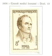 France - Neuf - 1958 Y&T 1142 - Philippe Pinel, Médecin - (1) - Neufs