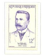 France - Neuf - 1958 Y&T 1143 - Grands Médecins. Fernand Widal - (1) - Neufs