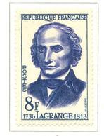 France - Neuf - 1958 Y&T 1146 - Joseph-Louis Lagrange, Mathématicien - (1) - Neufs