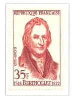 France - Neuf - 1958 Y&T 1149 - Claude-Louis Berthollet Chimiste - (1) - Neufs