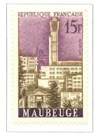 France - Neuf - 1958 Y&T 1153 - Villes Reconstruites : Maubeuge - (1) - Neufs