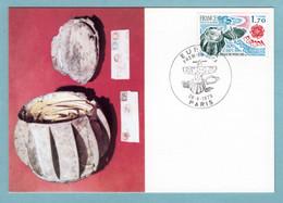 Carte Maximum 1979 - Europa 1979 - Boule De Moulin - YT 2047 - Paris - 1970-79