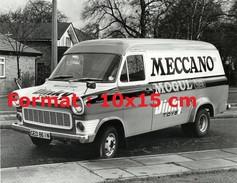 Reproduction D'une Photographie D'une Fourgonnette Ford Publicitaire Pour Meccano Dinky Toys Et Mogul - Riproduzioni