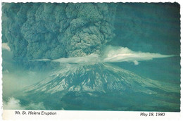 Mount St. Helens Eruption, 1980, 8 Hours After, Washington, US - Unused - Andere