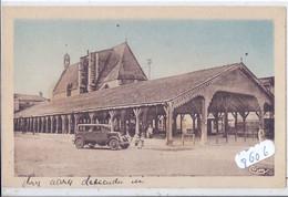 CHATILLON-SUR-CHALARONNE- LES HALLES ET L EGLISE- CIM- 1947 - Châtillon-sur-Chalaronne
