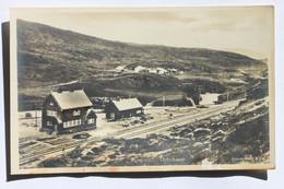 Kongsvold / Kongsvoll, Dovrebanen, Norge Norway, Real Photo Postcard RPPC, Eneret Mittet & Co (DAMAGED!!!) - Norvegia