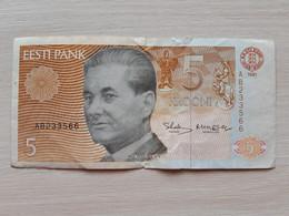 Estonia 5 Krooni Banknote 1991 - Estonia