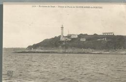 CB /  Vintage / Old Postcard / CPA  Environ De BREST Phare Saint Anne De PORTZIC / Voyagée 1924 PORTZEE - Brest