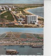 MAROC  -  AGADIR  -  LOT DE 10 CPSM PF  - - 5 - 99 Postales