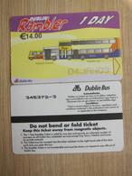 Ireland Dublin Rambler 1 Day  Ticket - Europa