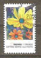 FRANCE 2020 Y T N °1857 Oblitéré Cachet Rond - Adhesive Stamps