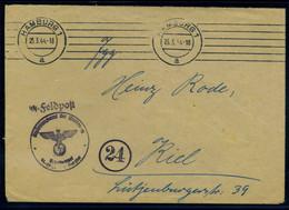 DEUTSCHES REICH SS-Feldpostbrief Gestempelt (107008) - Cartas